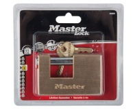Master Lock Brass Insurance Lock - 85mm Photo