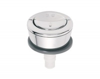 Wirquin Chrome Plated Dual Top Flush Button Photo