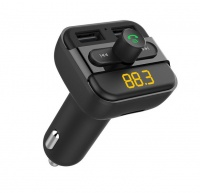 "Astrum 3-in-1""-Car Wireless Bluetooth FM Transmitter - FM400 Photo"