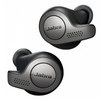 Jabra Elite 65t True Wireless Earbuds Titanium - Black Photo
