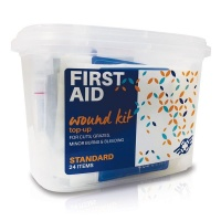 First Aid Wound Top-Up Kit 24 Items Photo