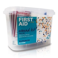 First Aid Wound Top-Up Superior Kit 31 Items Photo
