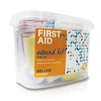 First Aid Wound Top-Up Deluxe Kit 41 Items Photo