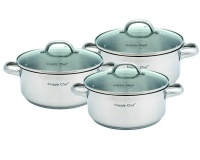 Snappy Chef Budget Cookware Set - 6 Piece Photo