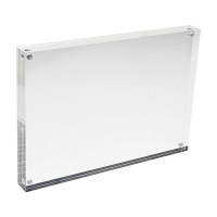 """5x7"""" Acrylic Photo Frame Stand with Magnets Photo"""