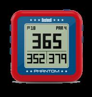 Bushnell Phantom Golf GPS Handheld Clip On - Red Photo