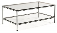 TOCC Double Glass Table - 1200 x 600 Photo