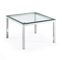 TOCC SS Single Glass Coffee Table - 600 x 600 Photo