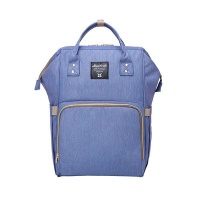Multifunction Waterproof Diaper Bag - Blue Photo