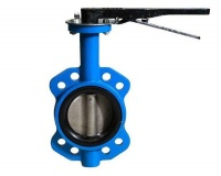 Agrinet Compact Cast Iron Lever 16B Butterfly Valve - 80mm Photo