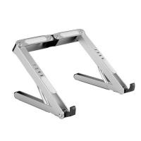 Adjustable Laptop Stand Holder - Silver Photo