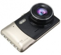 Dash Cam with Wide Angle & Dual Camera Reversing Recorder Car DVR Photo