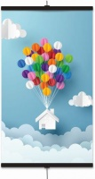 Easy Heat - Infrared Poster Heater - Balloons Photo