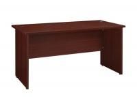 LINX Eminence 1200 Office Desk - Mahogany Photo