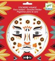 Djeco Face Stickers - Leopard Photo