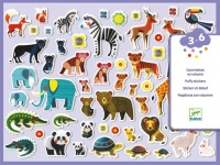 Djeco Foam Stickers - Mothers & Babies Photo