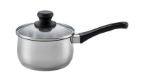 Scanpan - 1.5 Litre Classic Steel Saucepan with Lid - Silver Photo