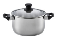 Scanpan - 4 Litre Classic Steel Dutch Oven with Lid - Silver Photo