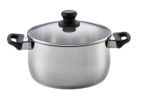 Scanpan - 5 Litre Classic Steel Dutch Oven with Lid - Silver Photo