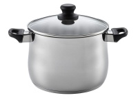 Scanpan - 7 Litre Classic Steel Stock Pot with Lid - Silver Photo