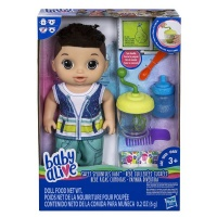 Baby Alive Sweet Spoonfuls Boy Doll - Brunette Hair Photo