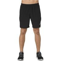 "ASICS Men's 7"" 2-In-1 Running Shorts - Black Photo"