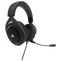 Corsair HS60 7.1 Surroundsound Headset - Black White Highlight Photo