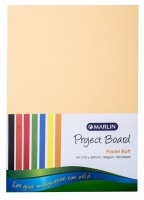 Marlin : Project Boards A4 100's - Pastel Buff Photo