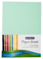 Marlin : Project Boards A4 100's - Pastel Green Photo