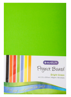Marlin : Project Boards A4 100's - Bright Green Photo