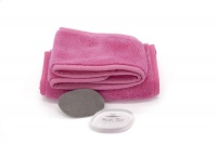Wonder Towel 5 Piece Mommy Makeup Eraser Collection - Pink Photo