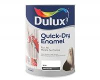 Dulux 1 Litre Quickdry Enamel Paint - White Photo