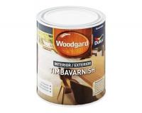 Woodgard 5 Litre Timbavarnish Paint Inter & Exter - Teak Photo