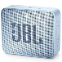 JBL Go 2 Portable Bluetooth Speaker - Cyan Photo