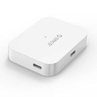 Orico 4 Port USB-C and USB 3.0 Hub - White Photo
