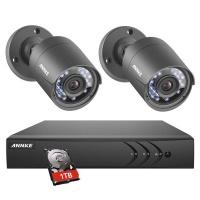 Annke 4CH DVR 2 Cameras Kit & 1TB HDD Photo