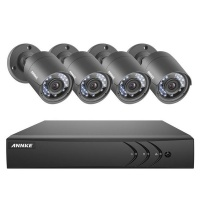 Annke 8CH Security CCTV HD DVR Kit with 4 Cameras Photo
