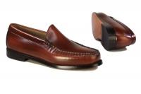 Bass Men's Formal Slip-On Shoes - Tan Photo