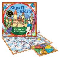 eeBoo Slips & Ladders Board Game Photo