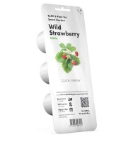 Click and Grow Wild Strawberry Refill for Smart Herb Garden - 3 Pack Photo
