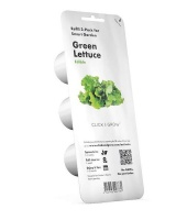 Click and Grow Green Lettuce Refill for Smart Herb Garden - 3 Pack Photo