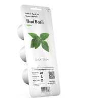 Click and Grow Thai Basil Refill for Smart Herb Garden - 3 Pack Photo