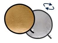 Lastolite 3834 95cm Circular Reflector - Silver & Gold Photo