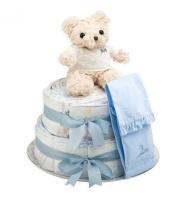 bebedeparis Chic Nappy Cake Hamper Photo