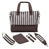 Baby Nappy Changing Bags Set - Coffee Photo