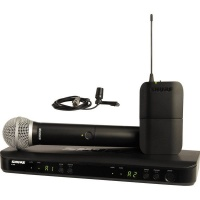 Shure BLX1288E/CVL Wireless Dual Channel Combo Wireless System Photo