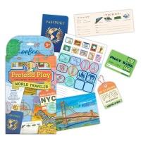 eeBoo Pretend Play - World Traveller Set Photo