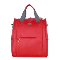 Baby Nappy Changing Diaper Bag - Red Photo