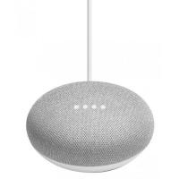 Google Home Mini Smart Speaker - Chalk Photo