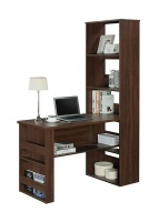 Kingston LINX LA Work Desk - Walnut Photo